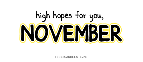 November Wish Quotes by Netizen 2017