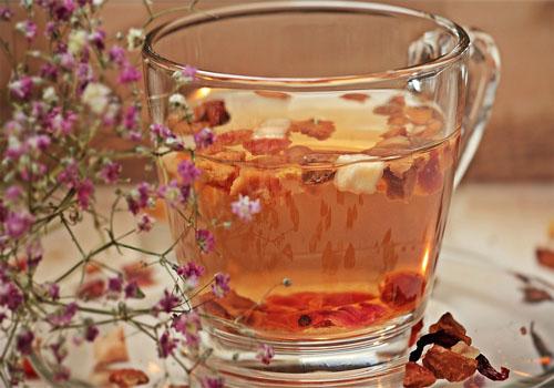 Ponche de té sin alcohol