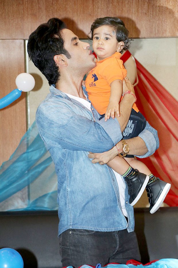 Tusshar Kapoor Celebrates Son Laksshya Birthday