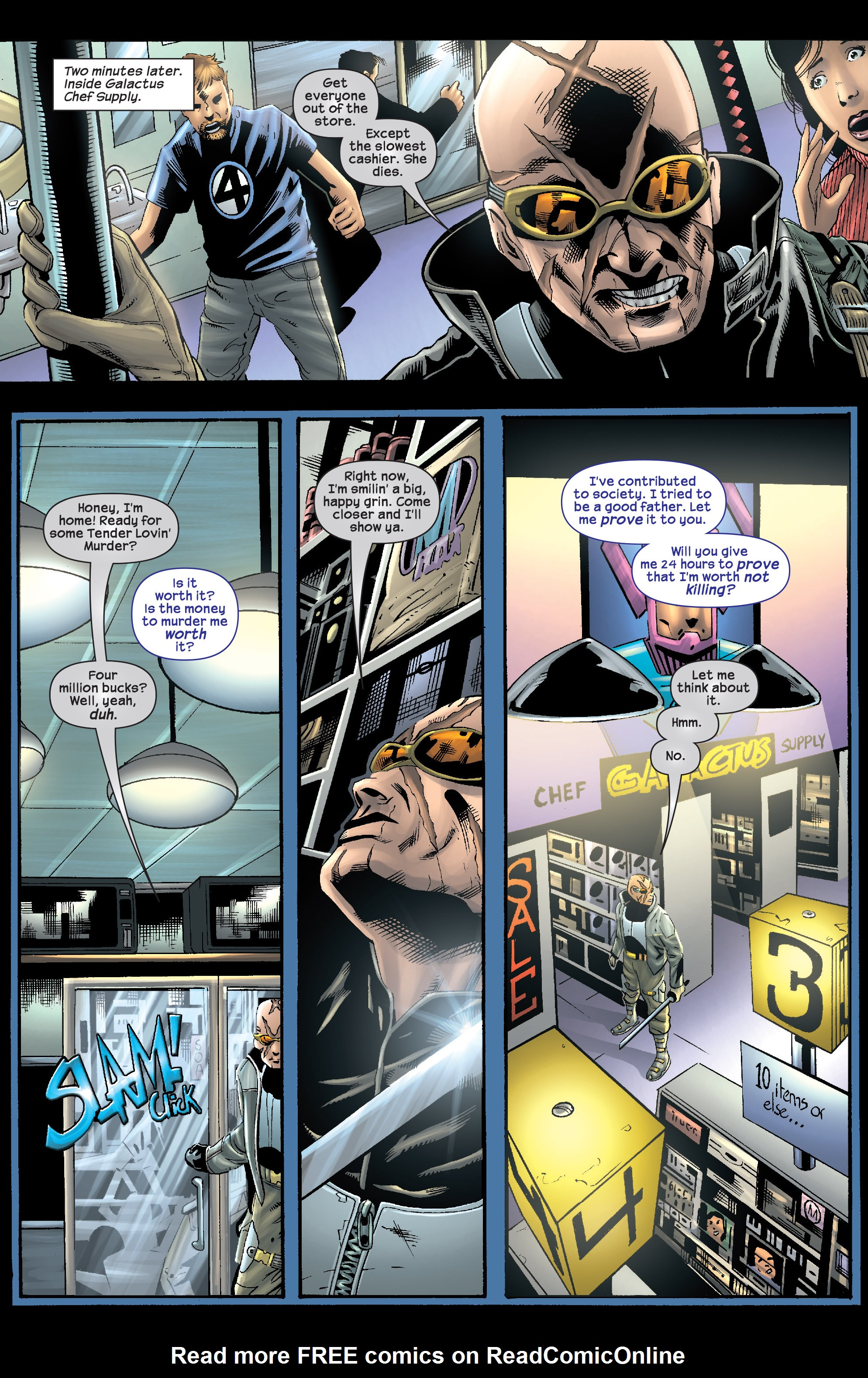 Read online Agent X comic -  Issue #8 - 22