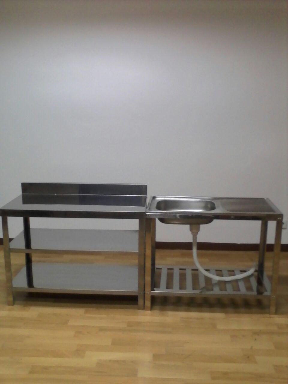 Meja Dan Kitchen Sink Merk Metalco