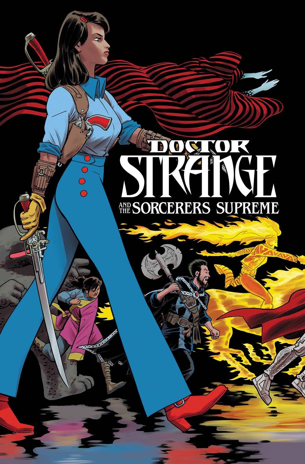 Sorceres Supreme - The Conjuror personagem brasileira Marvel