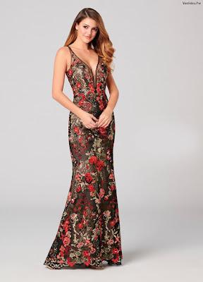 Vestidos largos elegantes y sencillos