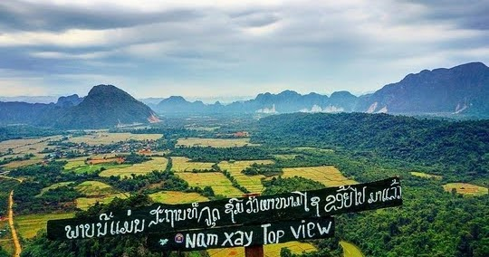 Vang Vieng Experiences: Hiking to a Secret Viewpoint