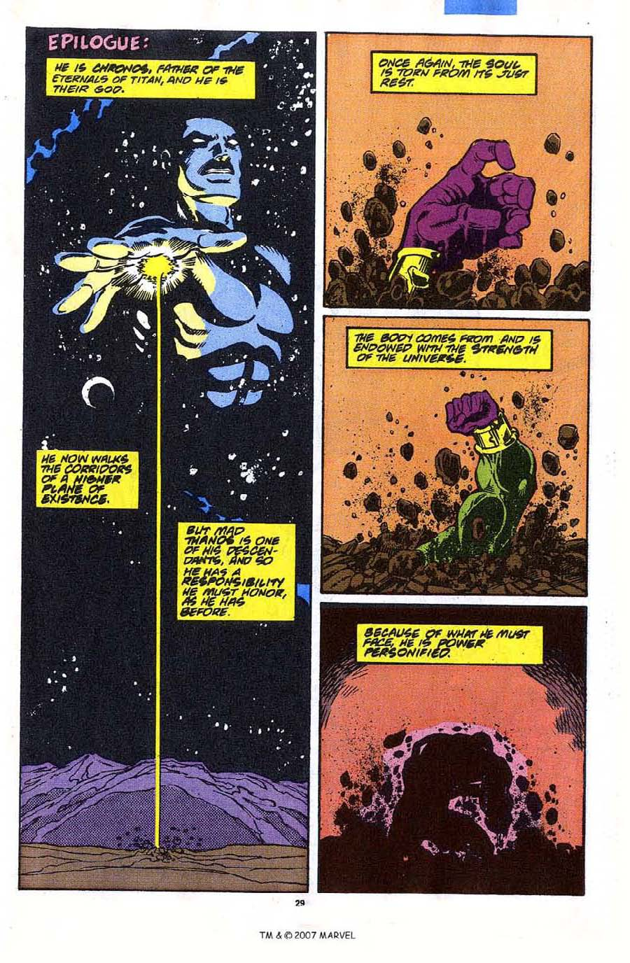 Read online Silver Surfer (1987) comic -  Issue #35 - 31