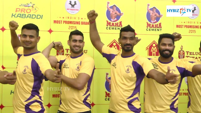 Telugu Titans Team Players