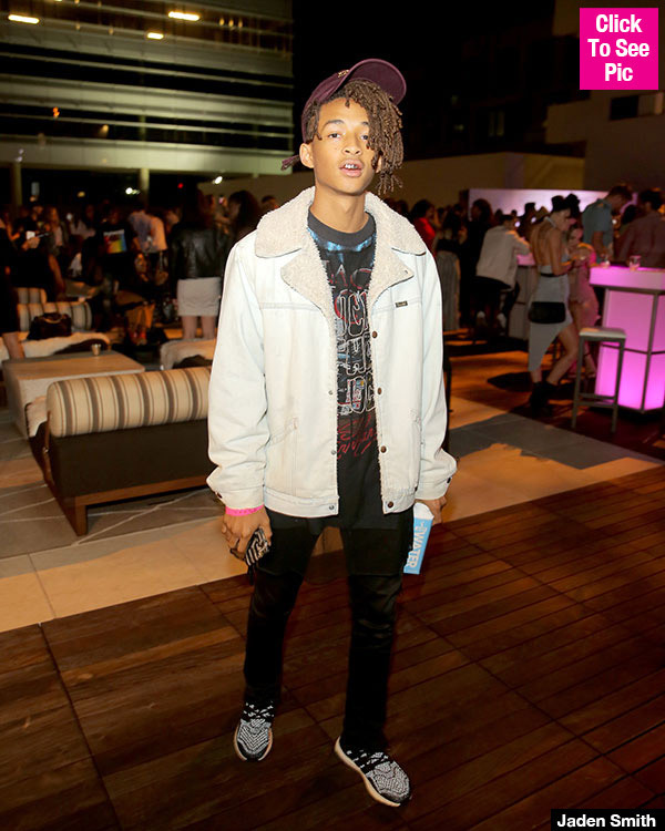 Jaden Smith Shows Off His Brand New $85,000 Tesla Model X — See The Pic