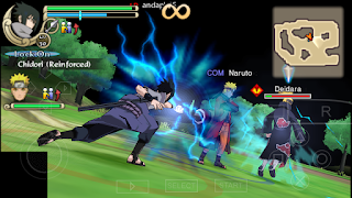 Download Naruto Ninja Impact PPSSPP