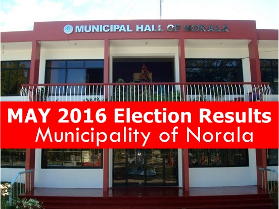 Municipality of Norala | May 2016 Elections Result