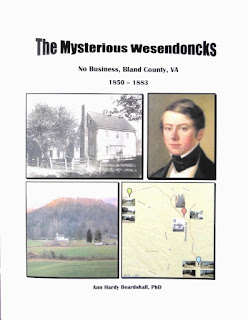 Beardshall, Ann Hardy: The Mysterious Wesendoncks. No Business, Bland County, VA. 1850 - 1883