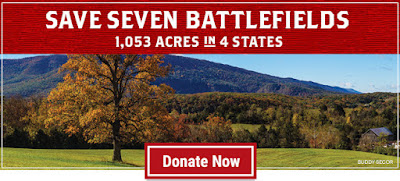 Save 1,053 Acres at Seven Battlefields