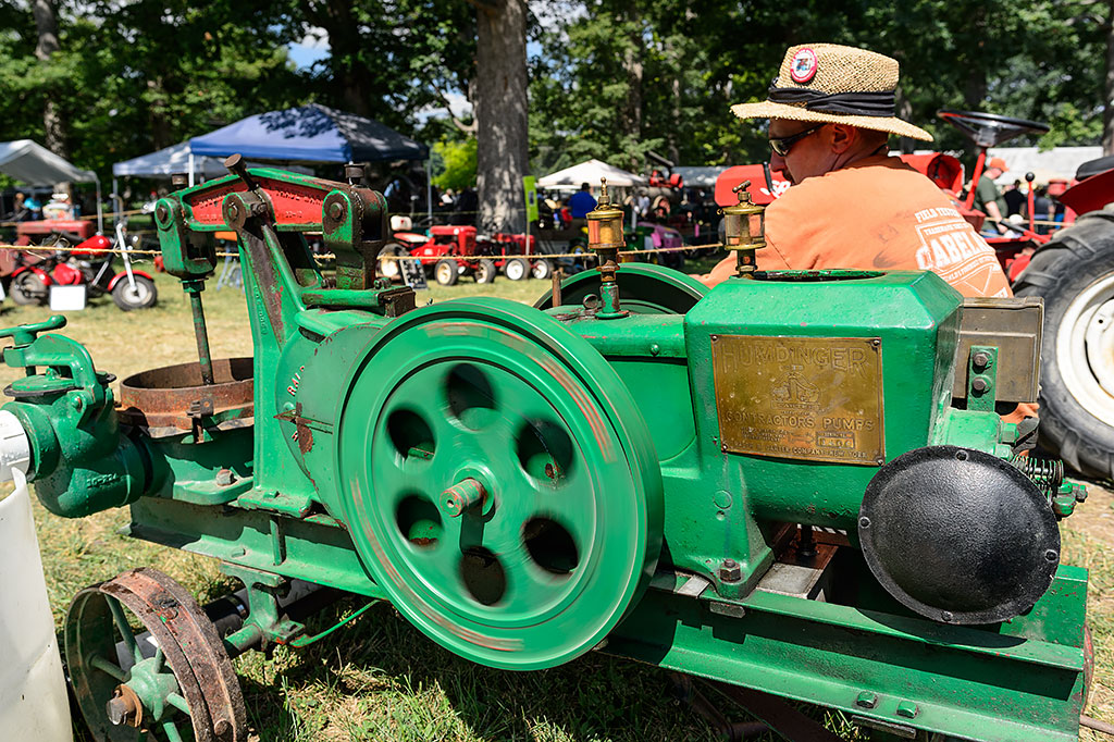 Carter Humdinger at Shenandoah Valley Steam and Gas Engine Association Show