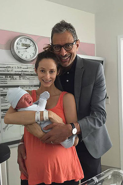 Jeff Goldblum became a father
