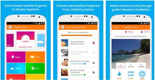 Download Happify | Ứng dụng giảm căng thẳng mệt mỏi trên Android