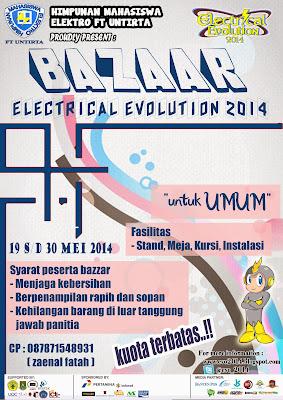 Bazaar On Electrical Evolution (E-VO) 2014