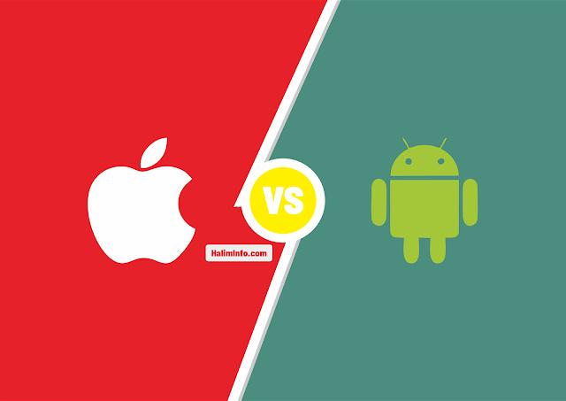 Android Vs Apple iOS Mana Yang Lebih Unggul