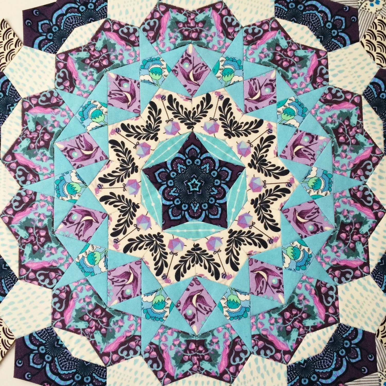 Passacaglia Quilt in Progress