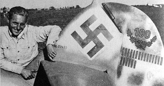 Erich Hartmann piloto