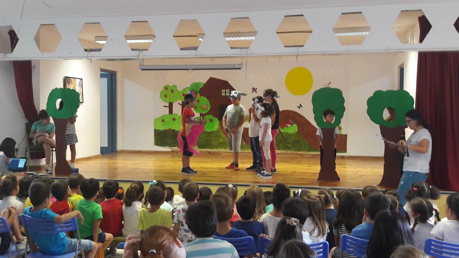 Experiencias en e infantil teatro for Gimnasio ua