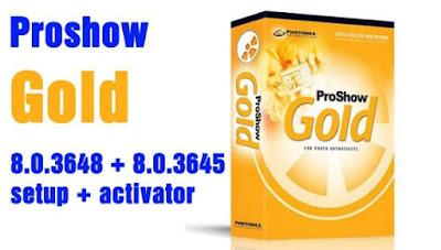 ProShow Gold 8.0.3648 + 8.0.3645 registration key 100% setup + activator key