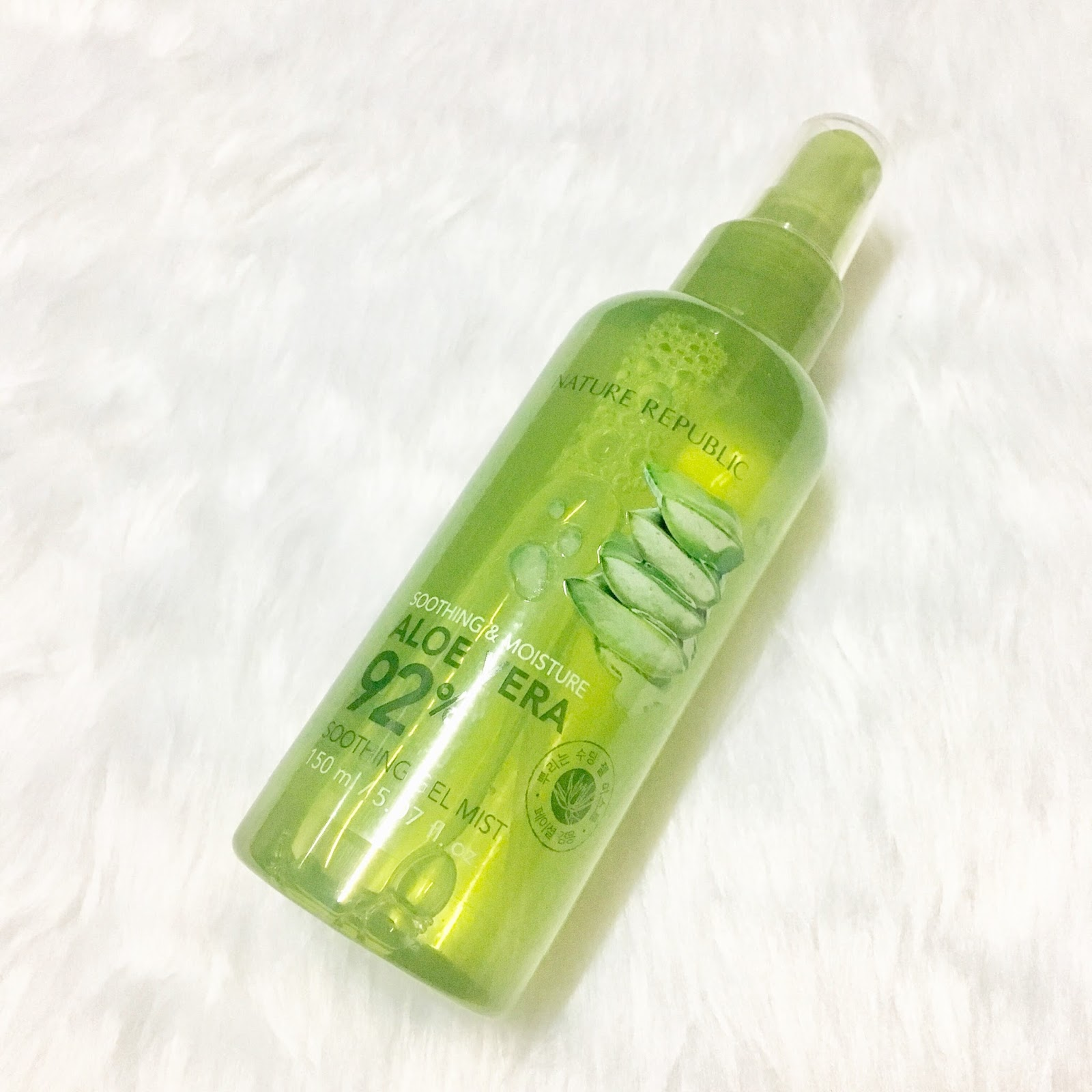 April 2018 The Lazy Orlov Nature Republic Mist Spray Soothing Gel Aloe Vera Original Review 92