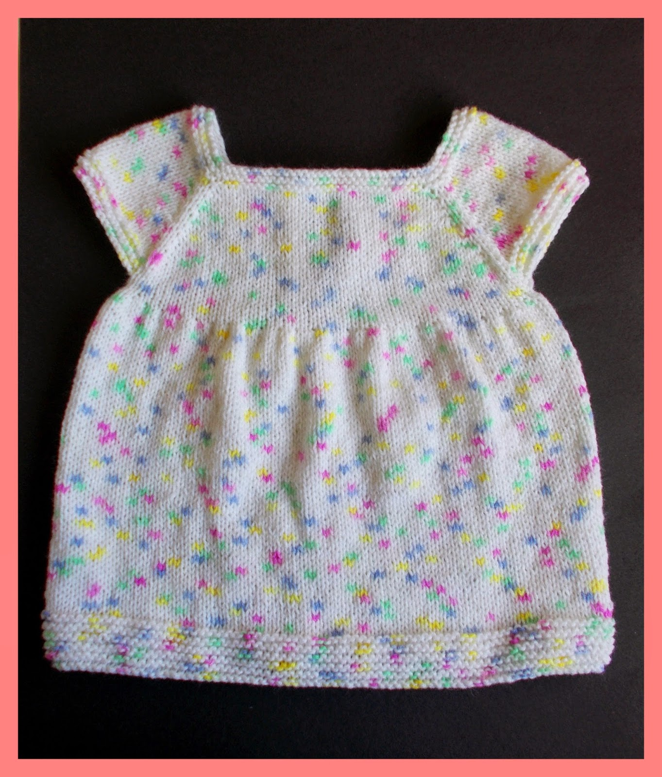 Marianna s Lazy Daisy Days Starting Out Knitted Baby Dress