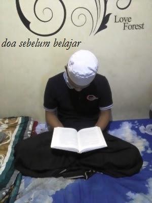 doa sebelum belajar agar mudah hafal dan faham