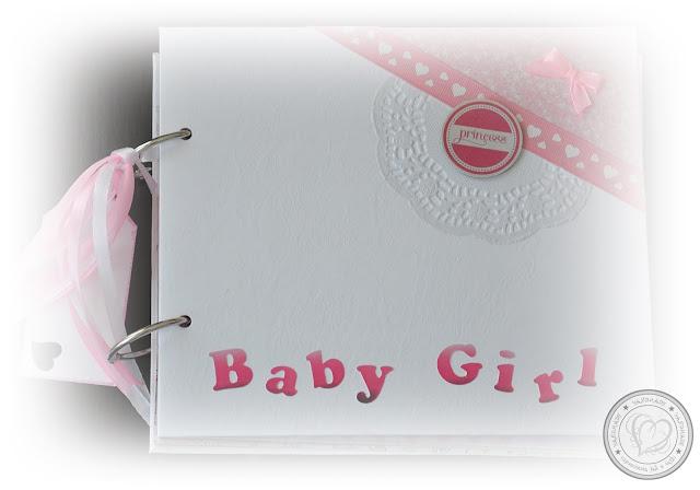 """Album dla małej księżniczki """"Baby Girl"""" (roczek)"""