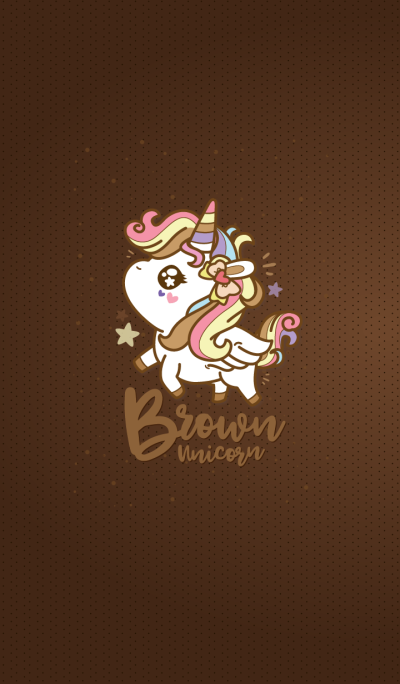 Brown Unicorn