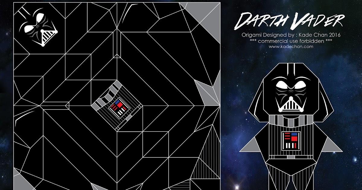 kade chan origami blog �������������� ��� darth vader origami