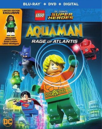 LEGO DC Comics Super Heroes: Aquaman – Rage of Atlantis (2018) English 720p HDRip x264 600MB
