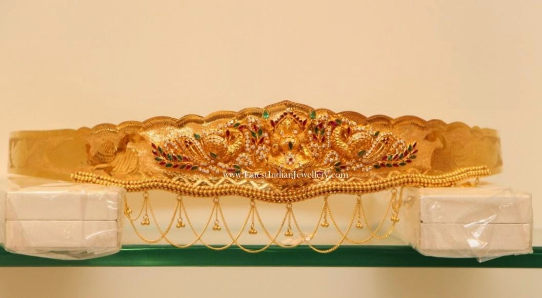 Latest Gold Waist Belt Designs