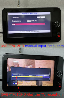 COFDM Wireless Video Receiver frequency modify 610Mhz