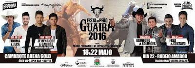 Festa do Peão Guaira SP 2016