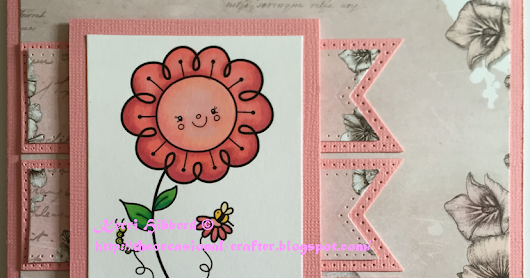 The Occasional Crafter: Flower Congratulations - Simply Create Too DT