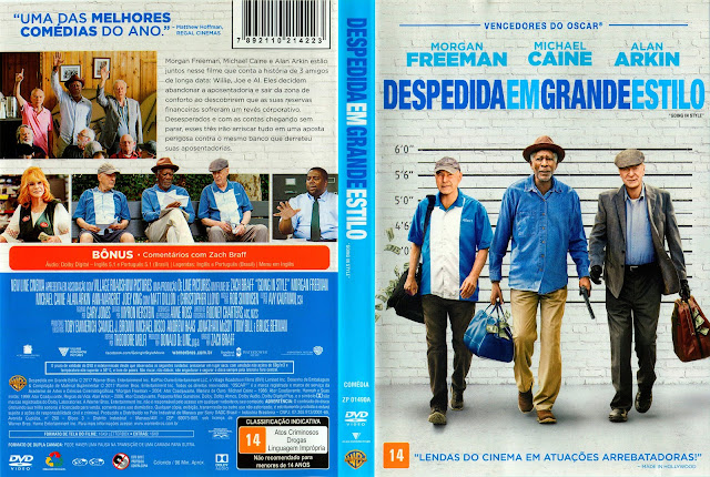 Capa DVD Despedida em Grande Estilo (Oficial)