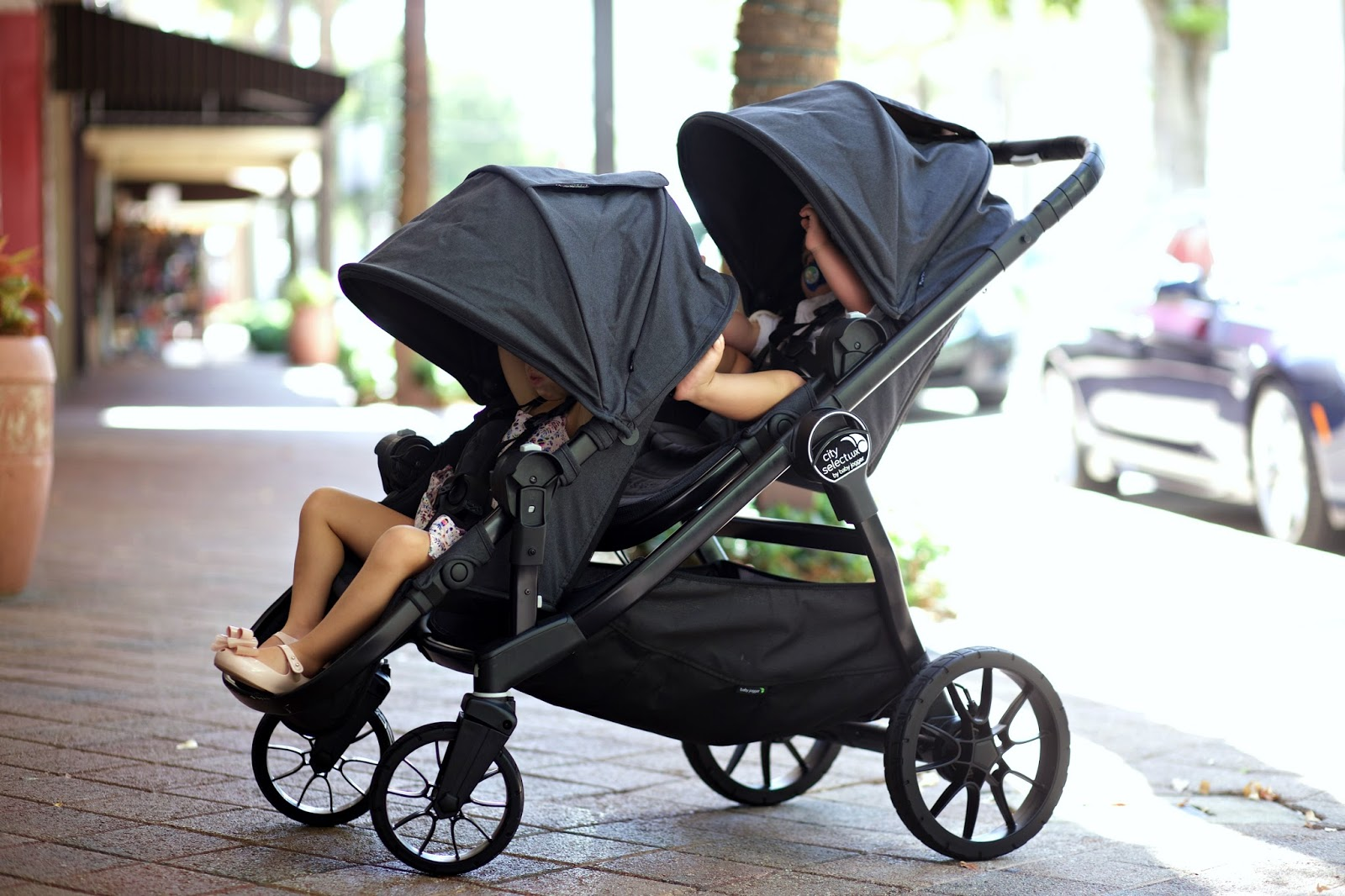 The Baby Jogger City Select Lux Stroller A Spoonful Of