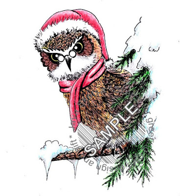 The Owl on Christmas Day 01