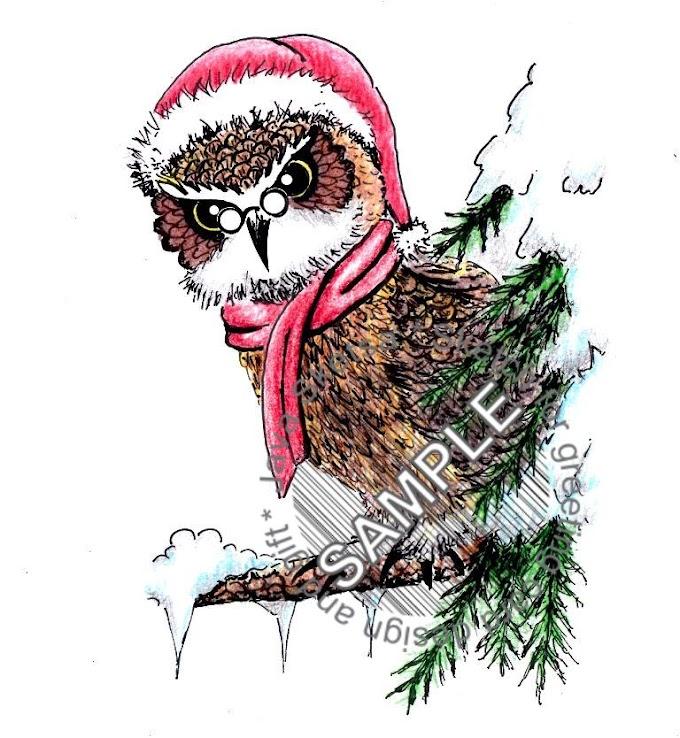 The Owl on Christmas Day