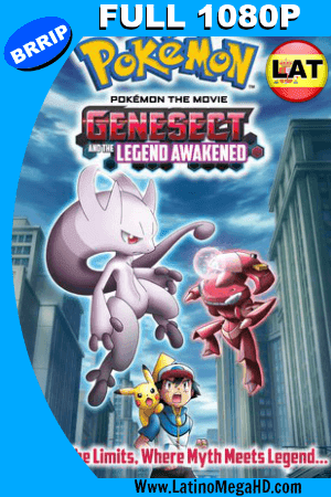 Pokemon 16: Genesect y el despertar de una Leyenda (2013) Latino Full HD 1080P (2013)
