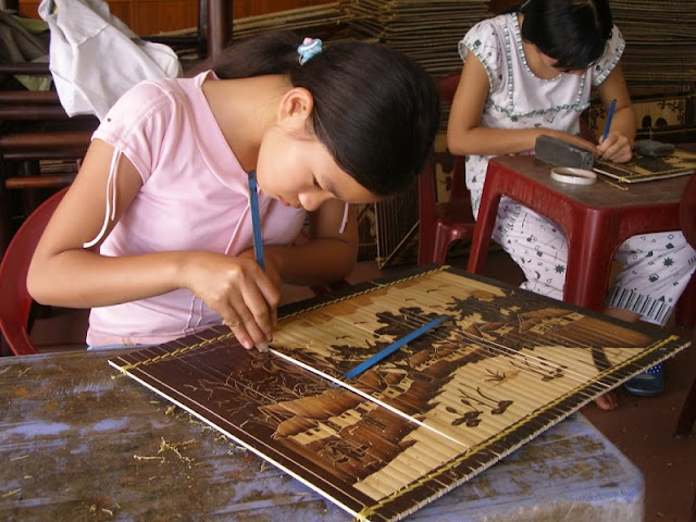 Bamboo Crafting in Vietnam 4
