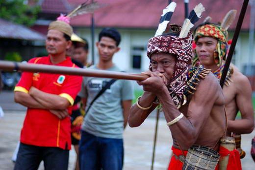 Sumpit, Senjata Tradisional Suku Dayak