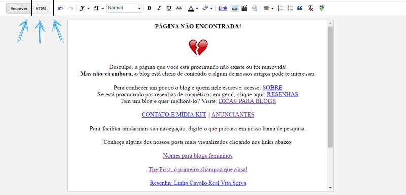 Como criar uma página de erro personalizada