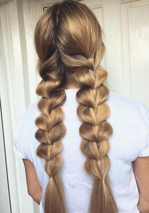 trendy hairstyle idea