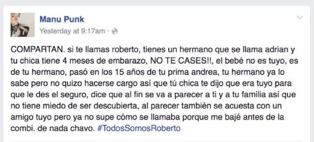 Todos somos Roberto, una historia de combi que se hizo viral