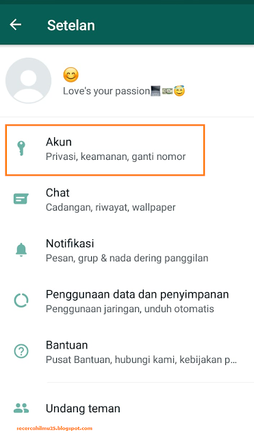 Cara Mudah Ganti Nomor Telepon Lama ke Nomor Telepon Baru di Whatsapp