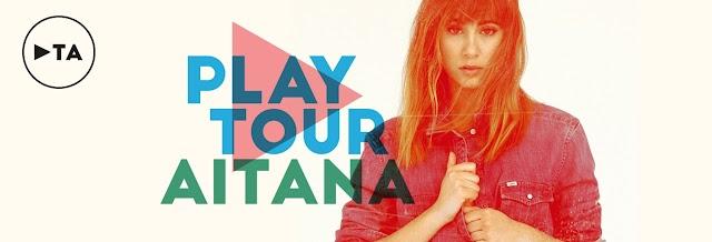 """Ya a la venta las entradas para el """"Play Tour"""" de Aitana"""