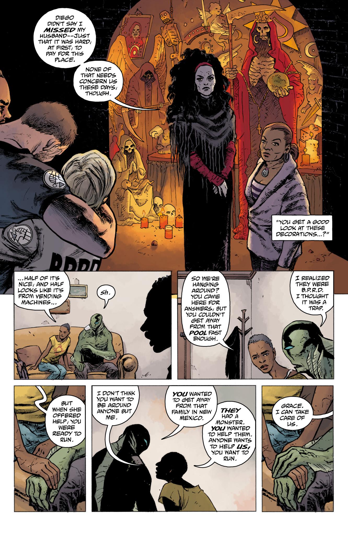 Read online Abe Sapien comic -  Issue #16 - 22