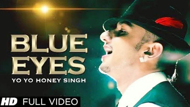 Yo Yo Honey Singh Hairstyle In Blue Eyes