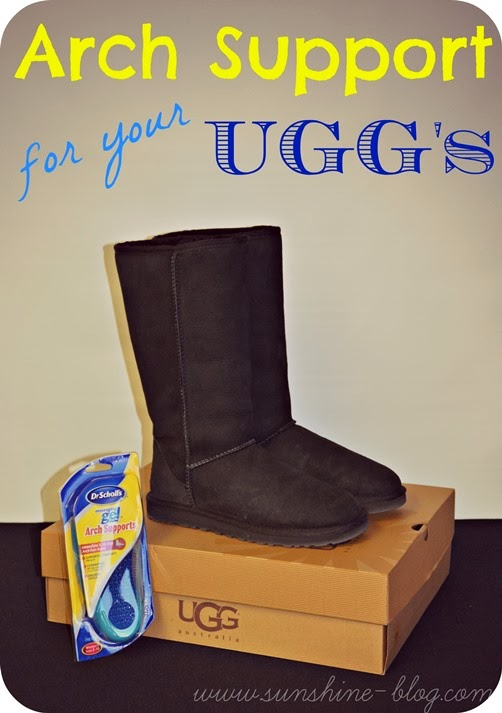 a67d52b293 Sunshine!: Arch Support for your Uggs